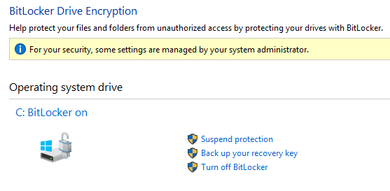Bitlocker Screen Shot